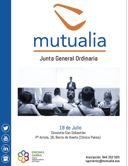 convocatoria junta general ordinaria